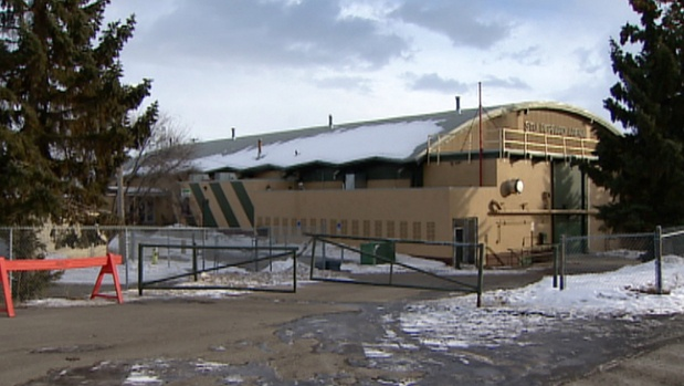 A city report indicates that recent melting and re-freezing of snow caused structural damage to two sections of the roof at Stu Peppard Arena.