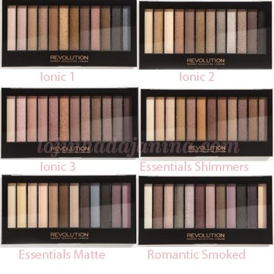 These are the best eye shadow sets! The colors are beautiful and they are around $7.00. Ulta sells all of the sets!