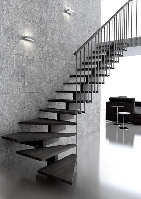 17 mejores ideas sobre modelos de escaleras en pinterest - Modelos de escaleras de casas ...