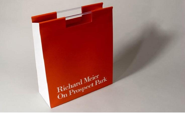 Richard Meier Shopping Bag designed by Jessica Haas Designs + dbox