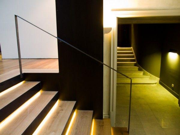 M s de 25 ideas fant sticas sobre iluminaci n de la - Iluminacion de escaleras ...
