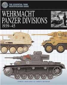 The Essential Tank Identification Guide: Wehrmacht Panzer Divisions 1939–45 by Chris Bishop, Amber Books, is the definitive study of the equipment and organisation of the Wehrmacht's armoured divisions. Organised by division, the book describes in depth the various models of tank in German service during the war with each unit. and is an essential reference guide for modellers and any enthusiast with an interest in the armoured divisions of the German Wehrmacht.