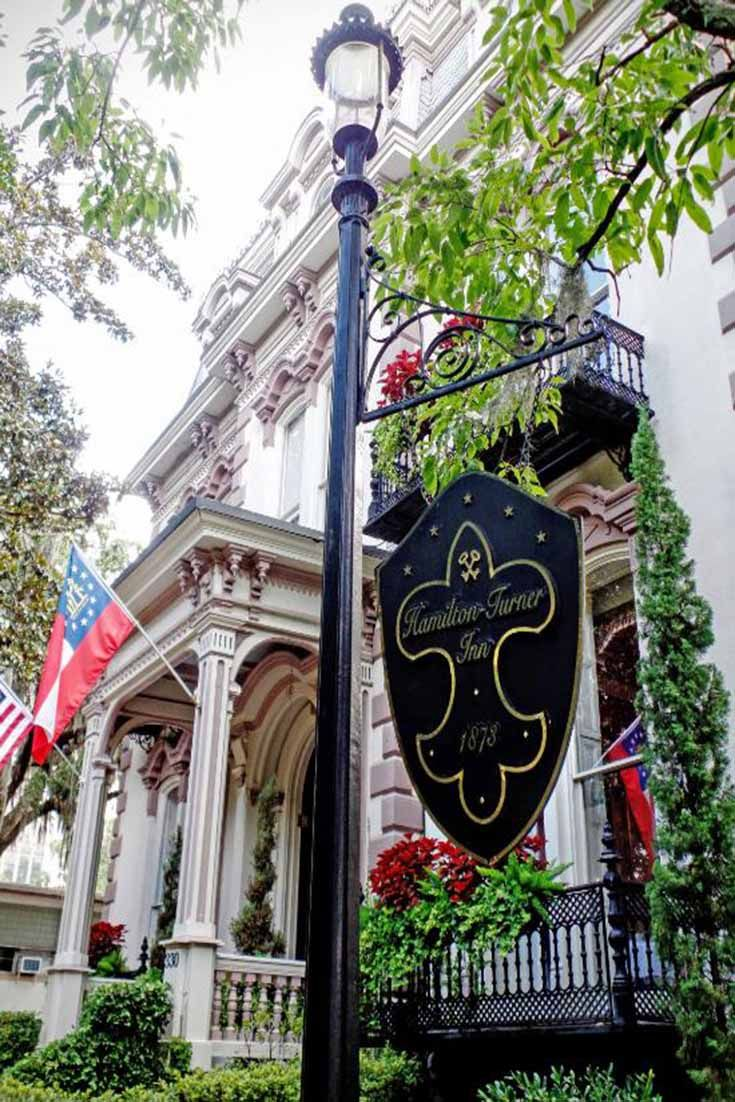 A Charming Boutique Hotel Hamilton Turner Is Situated In Historic District Called Lafayette