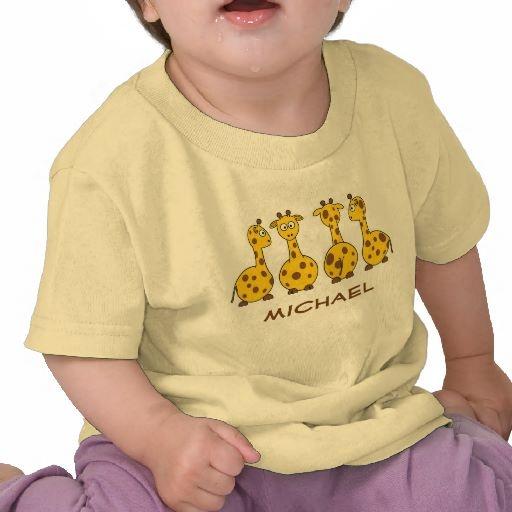 Giraffes T-Shirt by elenaind
