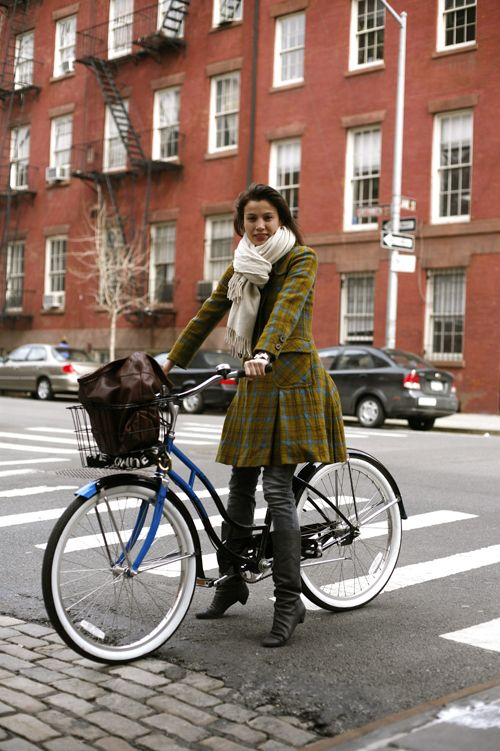 On The Bike….West Village, NYC « The Sartorialist