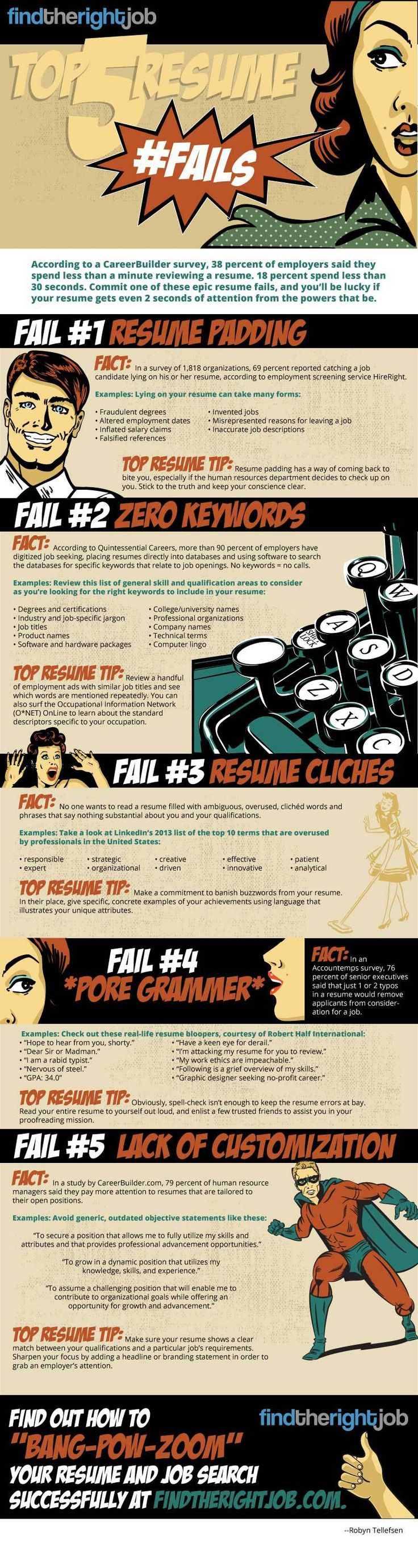 Put some time into your resume have