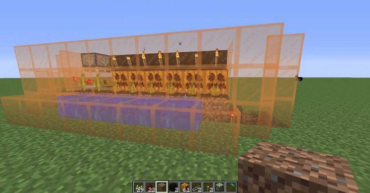 Minecraft 1.8.1 Fully Automatic Pumpkin Farm Tutorial