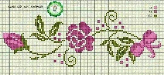 Flor con lazo