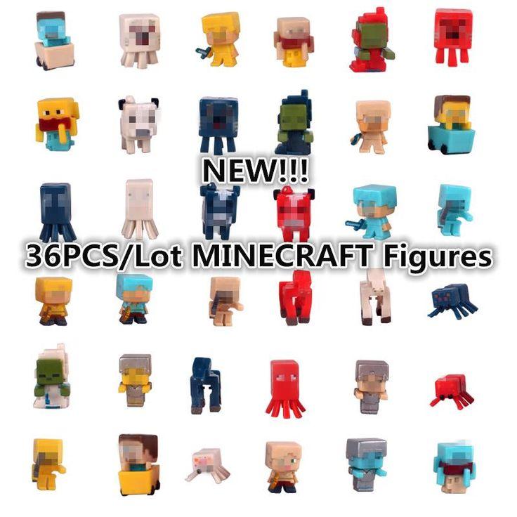 36pcs/set Minecraft Model Figures //Price: $22.00 & FREE Shipping //     #love