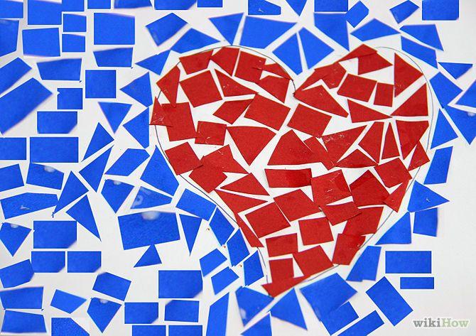 Make a Paper Mosaic