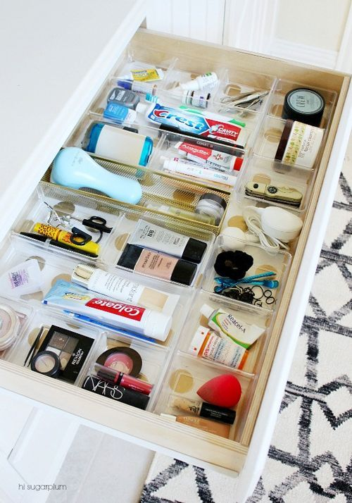 UHeart Organizing: Bathing in Blissful Bath Storage (via Bloglovin.com )