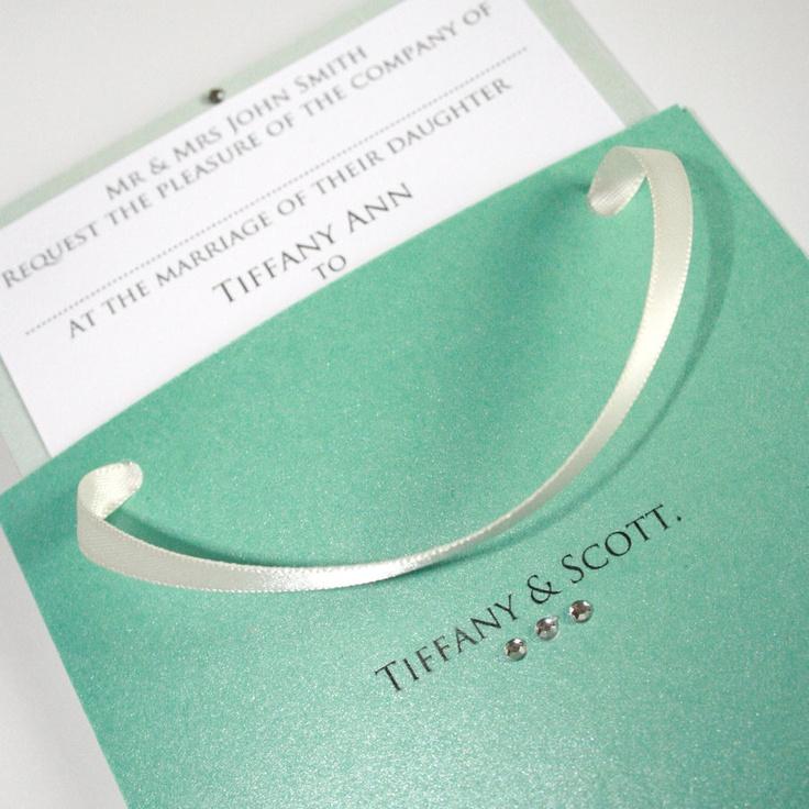 Tiffanys Wedding Invitations