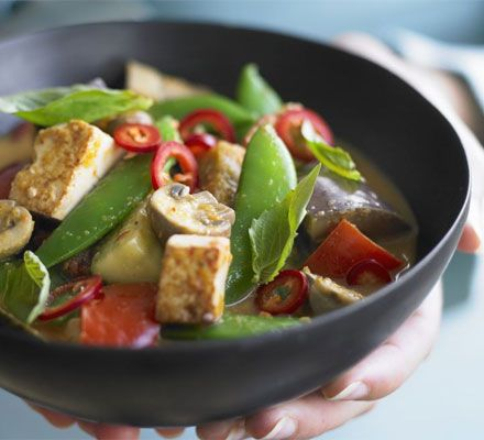 Veggie Thai red curry | Recipe