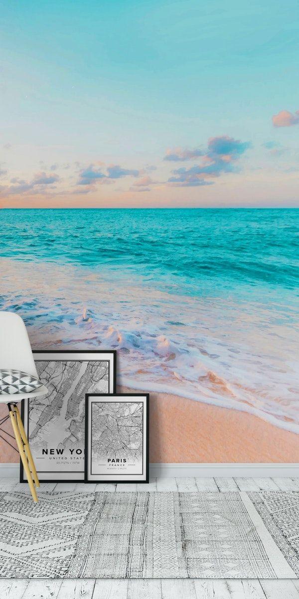 43+ Beach Effect Wallpaper