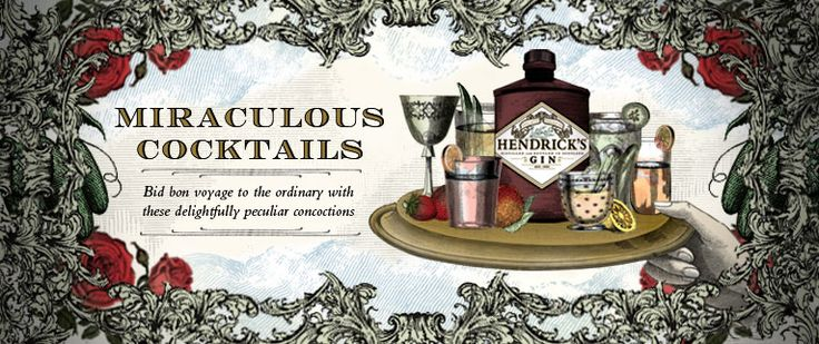 Miraculous Cocktails - Bid bon voyage to the ordinary with these delightfully peculiar concoctions