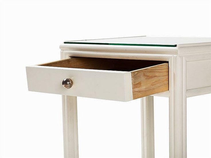Josef Hoffmann, Side Table with Drawer, Vienna, c. 1910