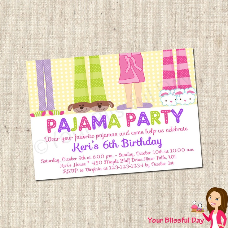 31 best Pajama Party Theme images on Pinterest | Birthdays, Kitchens ...