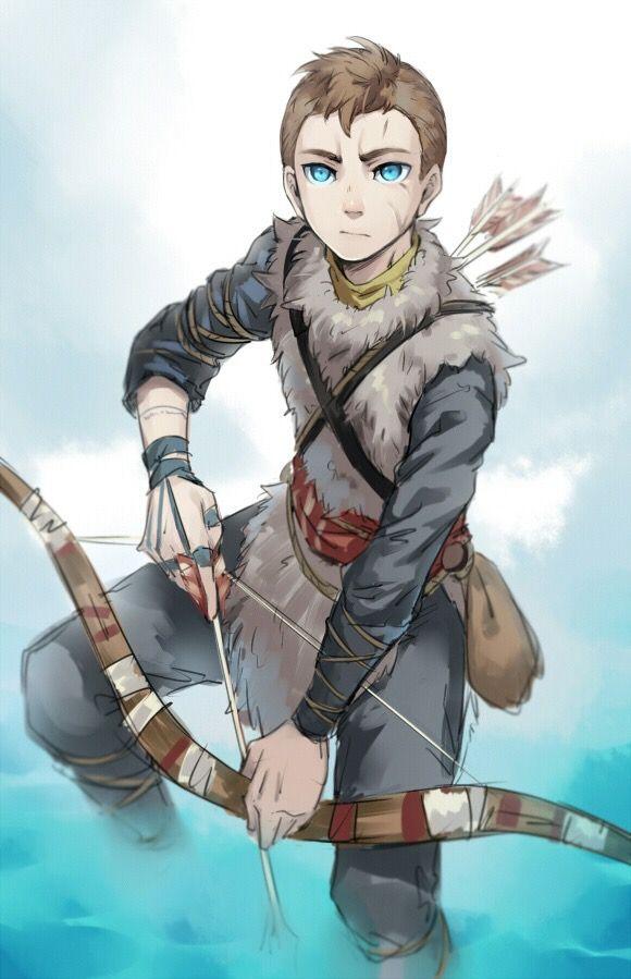 Atreus ~ God of War 4 #fanart | God of War | Kratos god of ...