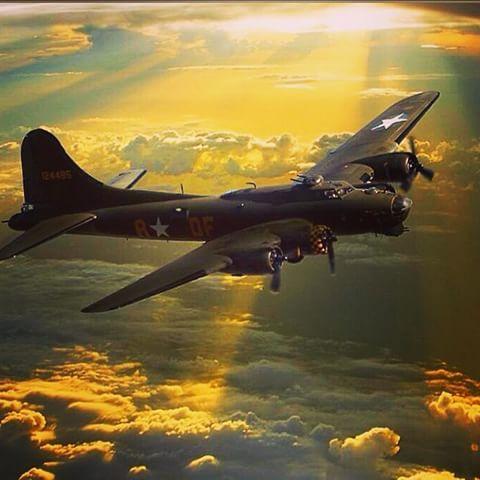 B-17 Flying Fortress 'SallyB' Airpower Art