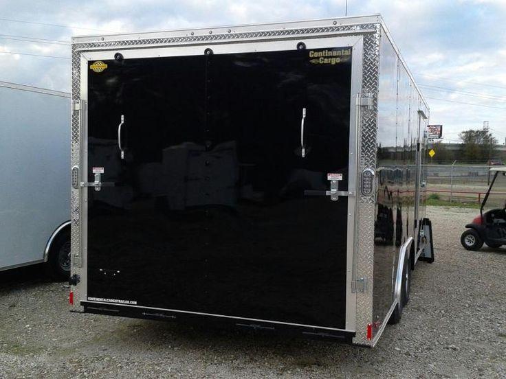 2017 Continental Cargo 8.5 X 20 ENCLOSED TRAILER CAR