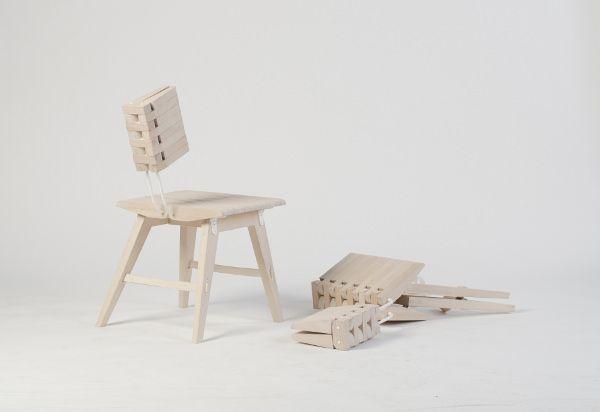 Ossa la chaise anthropomorphique par Johannessen et Clarke Design