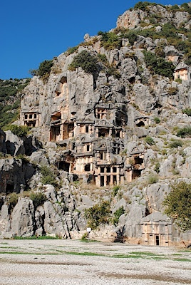 Lycia, Turkey  There are so many amazing places in Turkey to see! Amazing beaches, ruins, salt pools.... One day!!