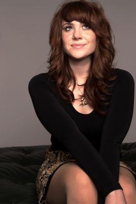 Kate Nash. I love her hair. This could happen.