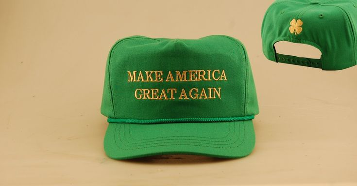 "Frank O'Donovan on Twitter: ""@TeamTrump If you knew anything about Ireland you would have a shamrock and not clover on the cap."""