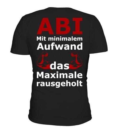 ABI SHIRT ABITUR ABSCHLUSS (*Partner Link)