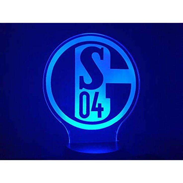 FC SHALKE 04 3D-Lampe LED #Handmade Produkte #Schm…