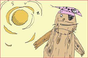 LE PIRATE DE BOIS AVEC LA JAMBE DE CHAIR / Il pirata di legno con la gamba di carne (SHORT FILM)