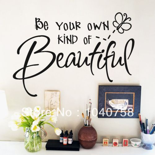 Cheap Marilyn Monroe Wall Decals, Buy Quality Wall Decals Quotes Directly  From China Wall Sticker Quotes Suppliers: Be Your Own Kind Beautiful Wall  Decals ... Part 56