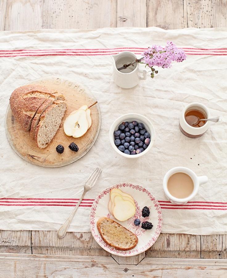 Básicos para un desayuno romántico