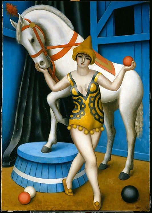 Circus Equestrienne, Jean Metzinger, French, 1924, | HDM 15/3 | Pinterest | Art, Circus art and Painting