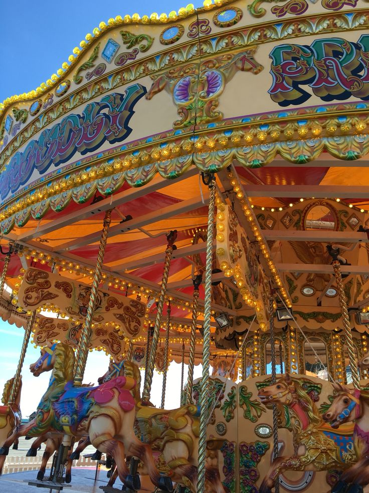 The carousel  by Rachel Daly