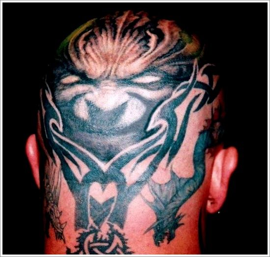 17 Best Ideas About Evil Tattoos On Pinterest