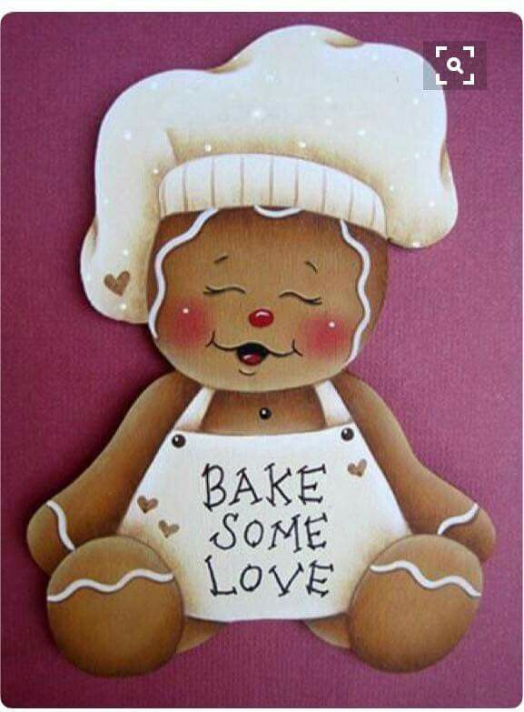 Galleta de genjibre bake some love. Ginger.  Cookie.