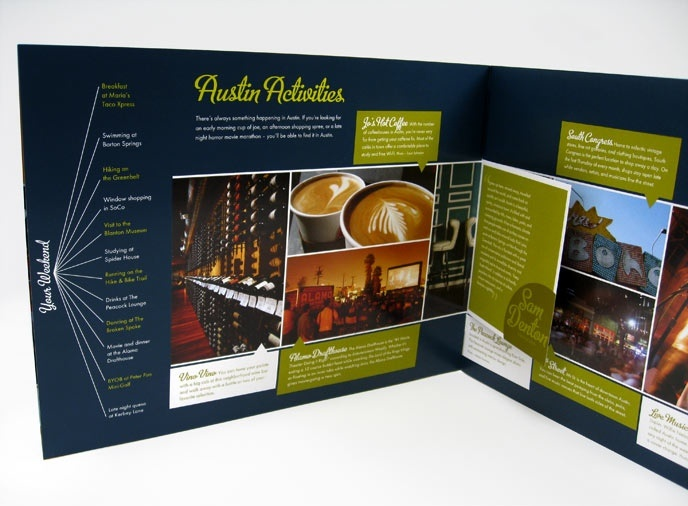 brochure design austin - 45 best graphic design branding and promotion images on