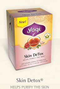 best tea ever! Helps clear your skin.  You can pick it up at most health food stores/whole foods.
