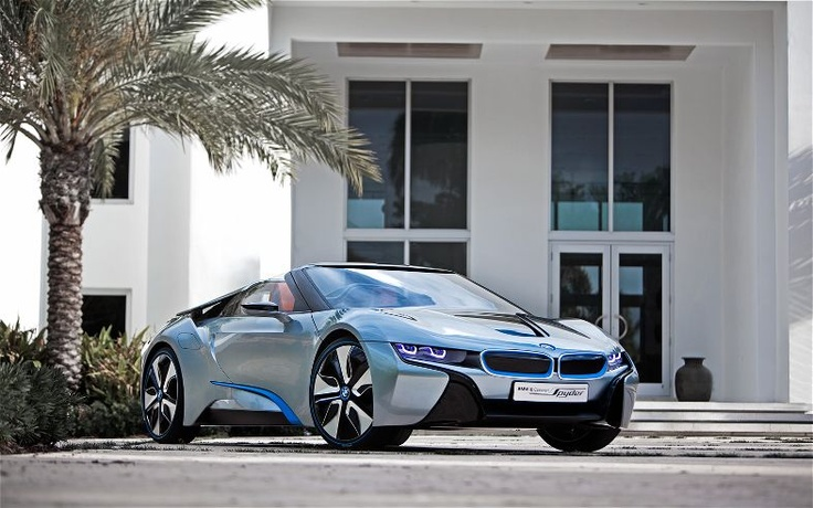 New BMW i8 Concept Spyder wallpapers