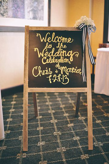 welcome sign (Julie Lim Photography)