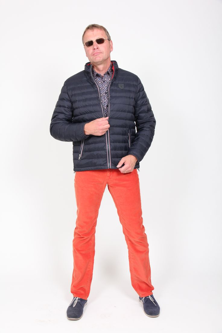 Gant jacket and trousers with Sand stylish shirt for autumn '13.
