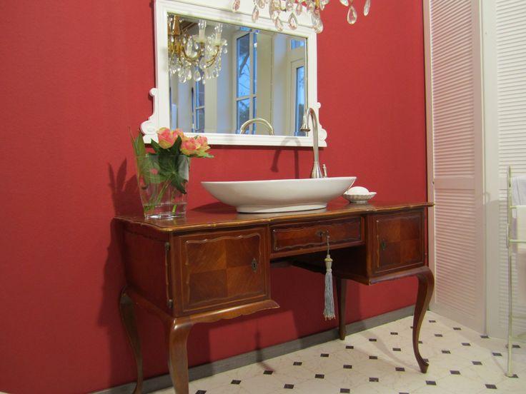 Waschtisch antik küche  Die 25+ besten Antiker waschtisch Ideen auf Pinterest | Waschen ...