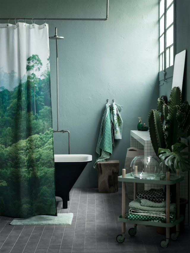 Nouveautés H&M Home 2016 : L'urban jungle 100% green - Marie Claire Maison                                                                                                                                                                                 Plus