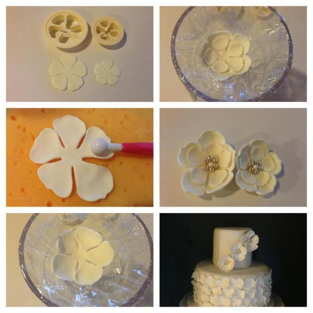Easy Gum Paste Flower
