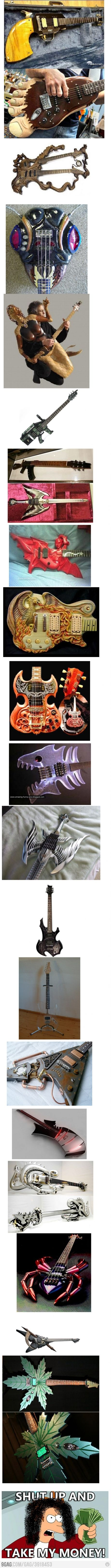 Sorry for the long post; but these guitars are awesome!