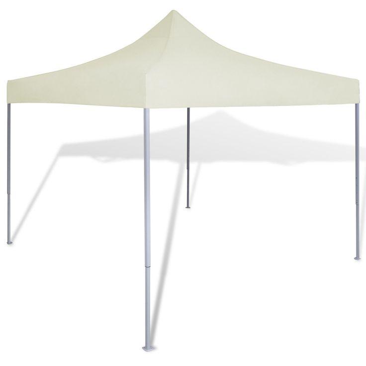 Outdoor Canopy Sun Shade Shelter Pop Up Garden Cream Foldable Tent 10 X