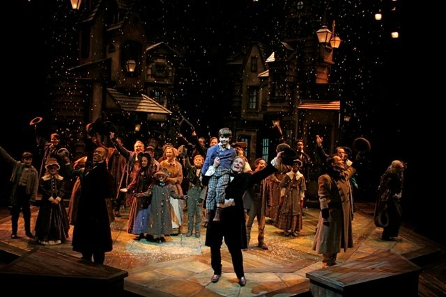 """Playhouse in the Park. Shown is the production of """"A Christmas Carol"""""""