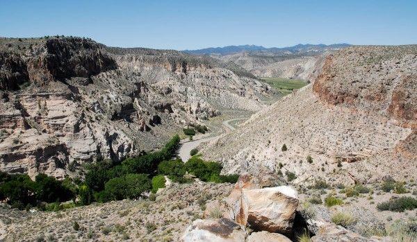 Caliente NV - Kershaw-Ryan State Park: picnicking, hiking, camping