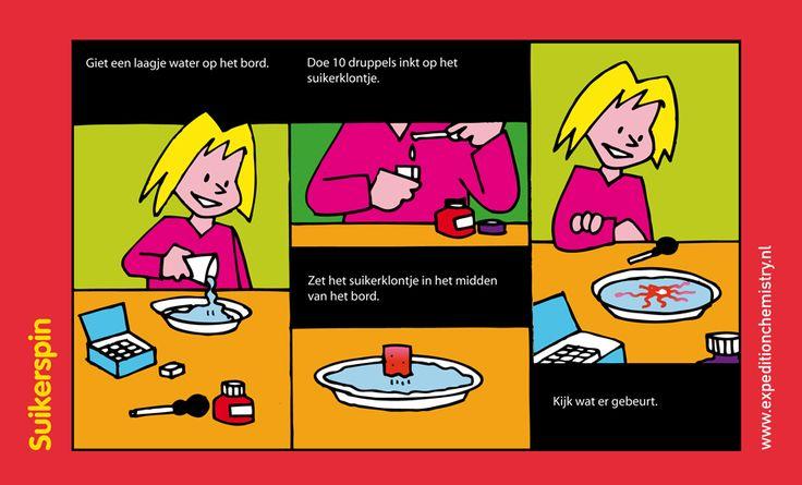 Suikerspin, leuk proefje voor kinderen op de basisschool!
